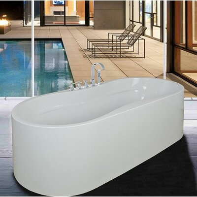 66.39 x 31.4 Soaking Bathtub