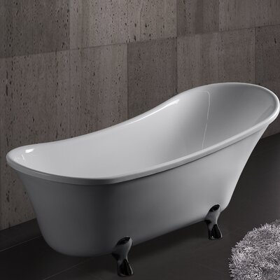 69 x 28.35 Soaking Bathtub