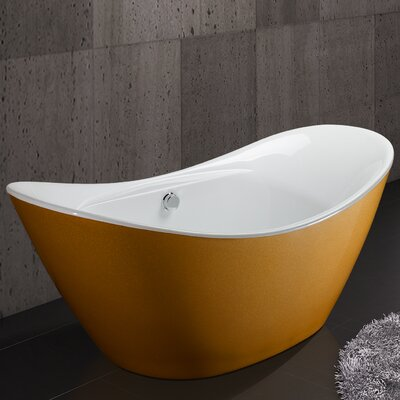 67 x 30.31 Soaking Bathtub