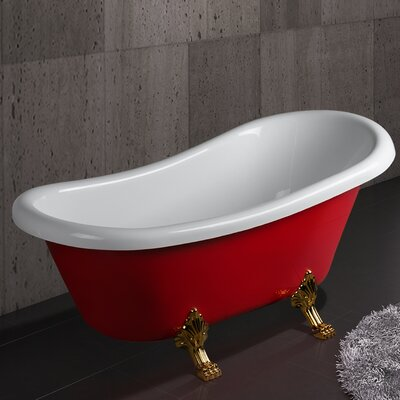 67 x 31.5 Soaking Bathtub
