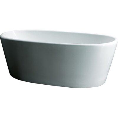 66.93 x 27.17 Soaking Bathtub