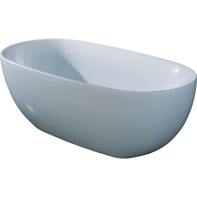 66.93 x 33.46 Soaking Bathtub
