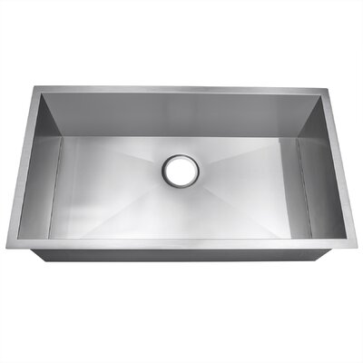 32 x 18 Single Bowl Kitchen Sink