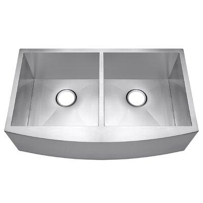 20 x 33 Double Basin Farmhouse/Apron Kitchen Sink