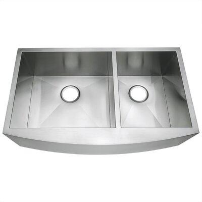 33 x 20 Double Basin Farmhouse/Apron Kitchen Sink
