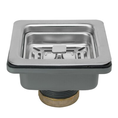 Multi Layer Square 3.5 Lift and Turn Kitchen Sink Drain