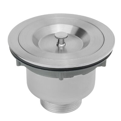 "Multi Layer Round 3.5"" Lift and Turn Kitchen Sink Drain KS0073"