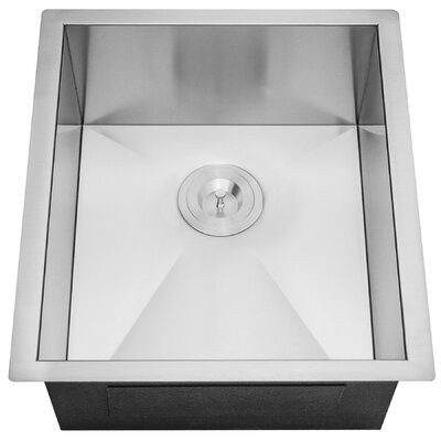 19 x 20 Undermount Kitchen Sink with Dish Grid and Drain Strainer