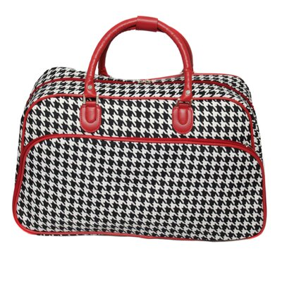 "21"" Travel Duffel Color: Red"