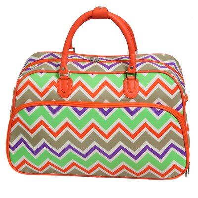 "21"" Travel Duffel Color: Orange"