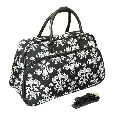 "21"" Travel Duffel Color: White"