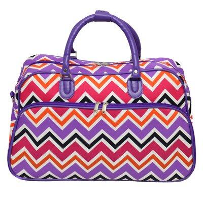 "21"" Travel Duffel Color: Purple"