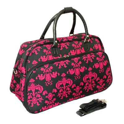 """21"""" Travel Duffel Color: Pink"""