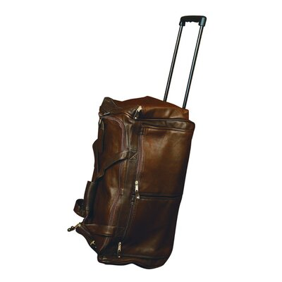 """23"""" 2 Wheeled Duffel Color: Brown"""
