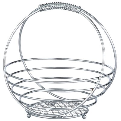 Globe Basket with Handle CR-0304