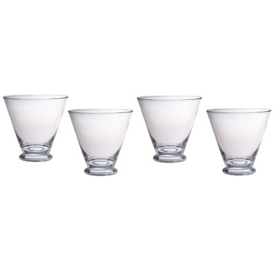 Sleek 12 Oz. Double Old Fashioned Glass CH-4438 x 4 pcs