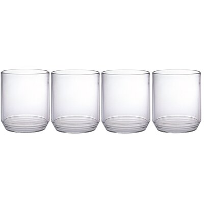 Ribbed 10 Oz. Tumbler Glass CH-4464 x 4 pcs