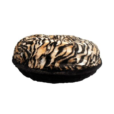 Bagel Metro Mink Dog Bed Size: Medium - 36 L x 36 W