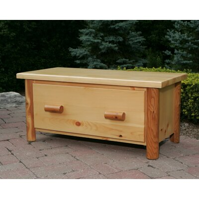 Nicholas Collection Toy Chest / Blanket Box Finish: Amber Varnish