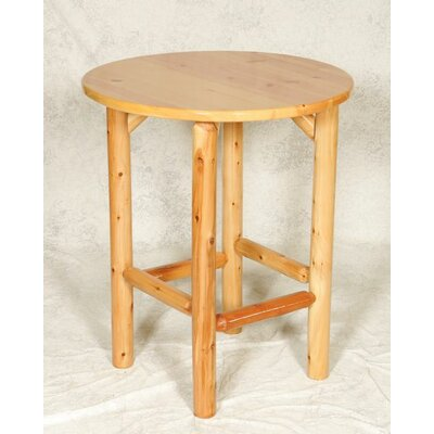Moon Valley Rustic Bistro Table - Finish: Amber Varnish at Sears.com