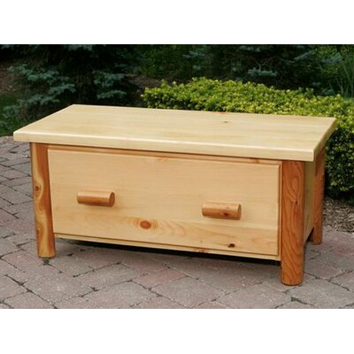Nicholas Collection Toy Chest / Blanket Box Finish: Unfinished