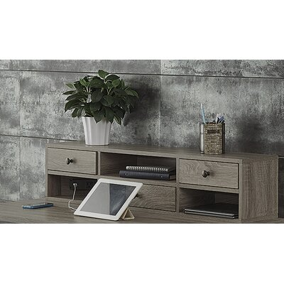 Franklin 9.5 H x 44 W Desk Hutch