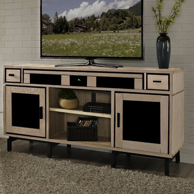 Soho Deluxe 66 TV Stand Color: Natural