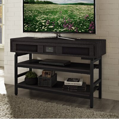 Soho 48 TV Stand with Built-In Surround Sound Finish: Brown