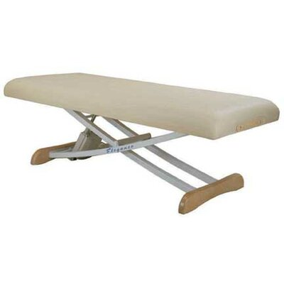 Elegance Basic Electric Massage Table Color: Navy Blue