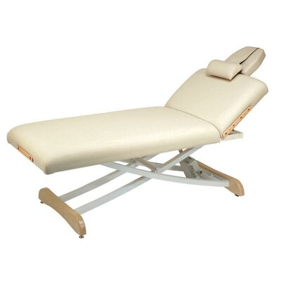 Elegance Lift Back Electric Massage Table Color: Buff