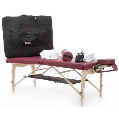 Simplicity Practice Essentials Massage Kit Color: Burgundy
