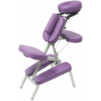 Melody Massage Chair Color: Purple