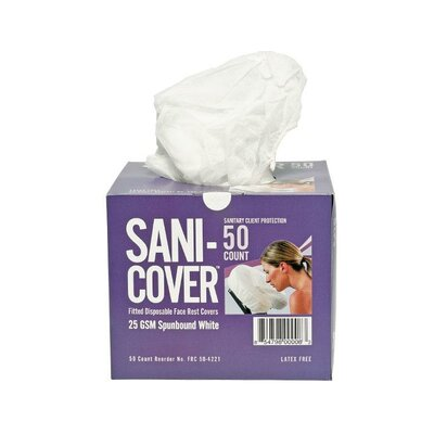 Disposable Face Rest Covers (50 Count Box)
