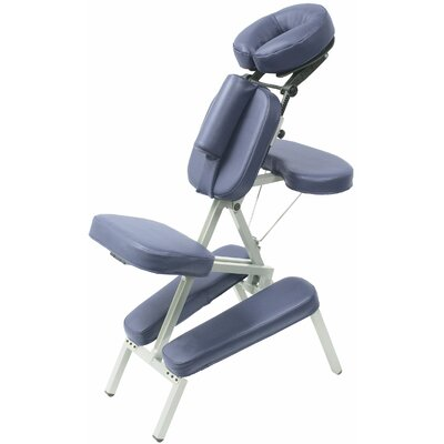 Melody Massage Chair Color: Navy Blue