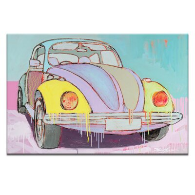 'Feeling Free and Easy' Graphic Art Print on Wrapped Canvas Size: 20