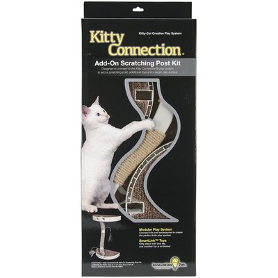 Kitty Connection Sisal Post and Toy