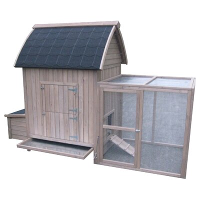 Coops & Feathers A-Frame Chicken Coop