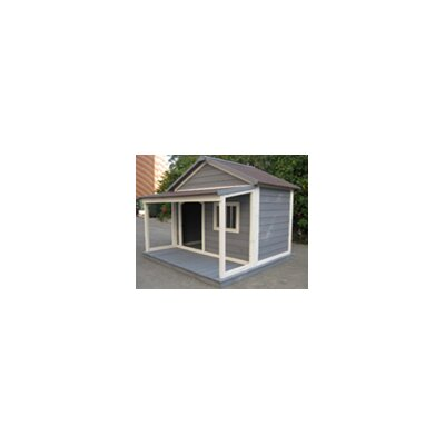 Houses & Paws� Home Town Dog House