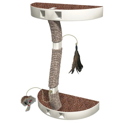 Kitty Connection� Jute Wrapped Cat Scratcher