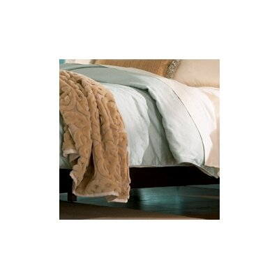 Metropolitan 4 Piece 300 Thread Count Cotton Sateen Sheet Set Size: Queen