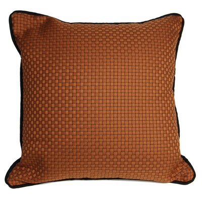 Basket Weaved Accent Throw Pillow