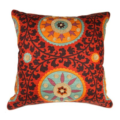 Tribal Threads Sunset Accent Cotton Euro Pillow