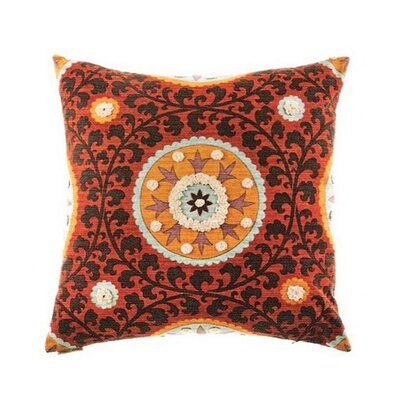 Tribal Threads Suzani Accent Cotton Throw Pillow