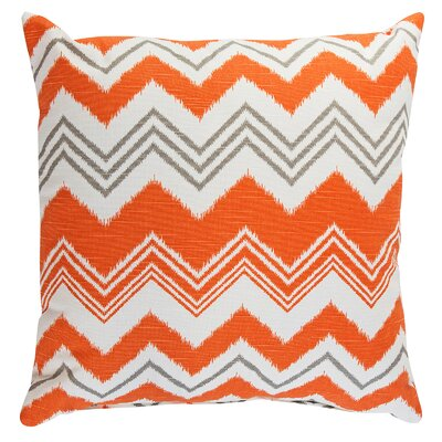Zazzle Accent Throw Pillow Color: Orange