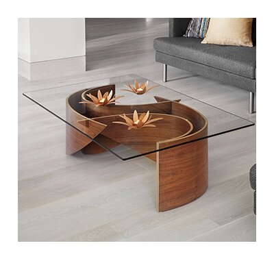 Wave Coffee Table Color: Oak