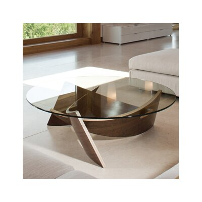 Expose Coffee Table Color: Walnut
