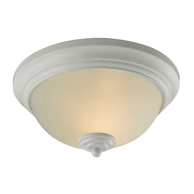 Fremantle 2-Light Flush Mount Finish: White