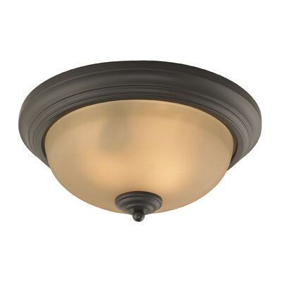 Fremantle 2-Light Flush Mount Size: 13 H x 13 W