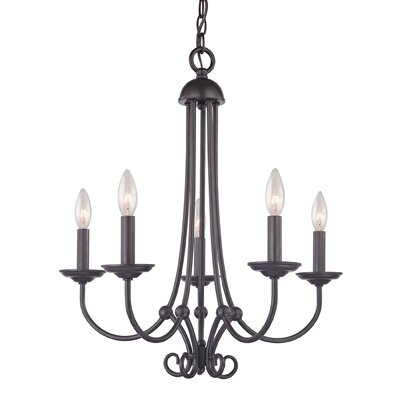 Holloway 5-Light Candle-Style Chandelier