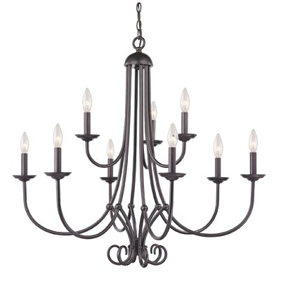 Williamsport 9-Light Candle-Style Chandelier